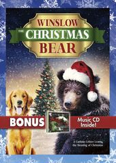 Winslow the Christmas Bear (DVD + CD)