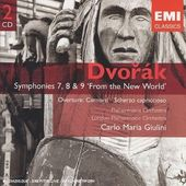 Dvorak: Symphonies 7, 8 & 9 'From the New World',