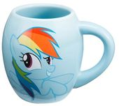 My Little Pony - Rainbow Dash 18 oz. Oval Ceramic