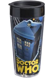 Doctor Who - 16 oz. Plastic Travel Mug