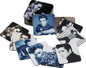 Elvis Presley - 10pc Coaster Set With Collector's