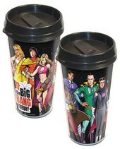 The Big Bang Theory - Superheroes 16 oz. Travel