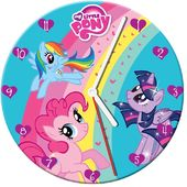 "My Little Pony 13.5"" Cordless Wood Wall Clock"