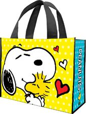 Peanuts Large Recycled Shopper Tote