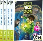 Ben 10: Alien Force,Volumes 1-4 (4-DVD)