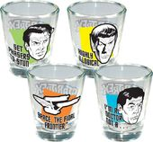Star Trek - Quotes Shot Glass 4-Pack