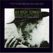40 Irish Songs Everyone Ought to Know (2-CD)