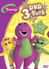 Barney - Early Learning 3-Pack (3-DVD)