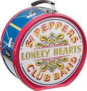 The Beatles - Sgt Pepper's Drum Shaped Tin Tote
