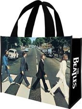 The Beatles - Abbey Road Large Recycled Shopper