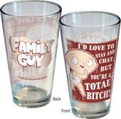 Family Guy - Chat - Pint Glass