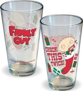 Family Guy - Check This - Pint Glass