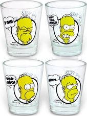Simpsons - Shot Glass 4-pack
