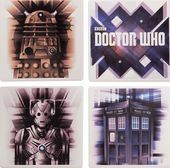 Doctor Who - 4pc Ceramic Coaster Set