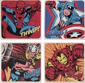 Marvel Comics - 4pc Ceramic Coaster Set