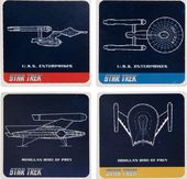 Star Trek - 4pc Ceramic Coaster Set
