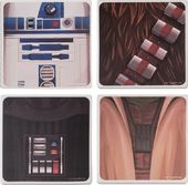 Star Wars - 4pc Ceramic Coaster Set