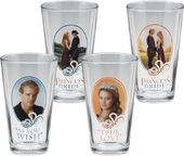 The Princess Bride - 4 Piece 16 oz. Glass Set
