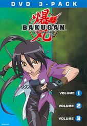 Bakugan, Volume 1-3