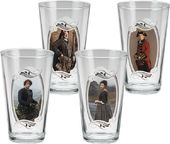 Outlander - 4 Piece 16 oz. Glass Set