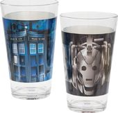 Doctor Who - Laser Decal Pint Glass 2-pack
