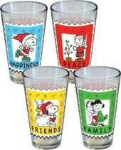 Peanuts - Holiday Stamp 4 Pack