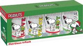 Peanuts - Snoopy - Holiday Pint Glass 4-pack