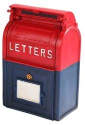 Old Fashioned Memorabilia Mailbox Savings Bank