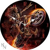 Hell Rider - Wall Clock