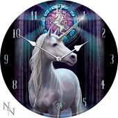 Enlightened Unicorn - Wall Clock