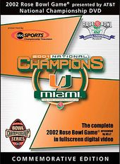 2002 Rose Bowl - Miami, Fl. Vs. Nebraska
