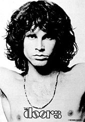 Doors - Jim Morrison Open Arms: Flag / Poster /