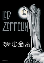 Led Zeppelin - Stairway To Heaven: Flag / Poster
