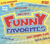 K-Tel Presents Funny Favorites (3-CD)