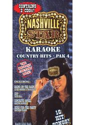 Nashville Star - Karaoke Country Hits, Pak 4