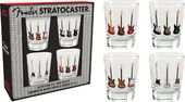 Fender - Stratocaster - 4 Shot Glass Set