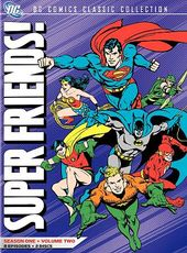Superfriends - Season 1 - Volume 2 (2-DVD)