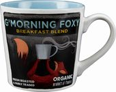 G' Morning Foxy - 18 oz. Stoneware Mug