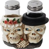 Wedding Skull Salt & Pepper Shaker
