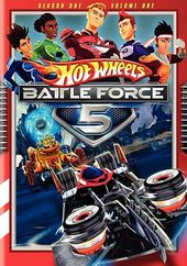 Hot Wheels: Battle Force 5, Volume 1