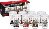 Fender - Stratocaster - 4 Pint Glass Set