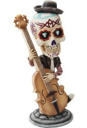 Day of the Dead Bobblehead - Bassist