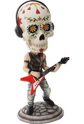 Day of the Dead Bobblehead - Guitarist