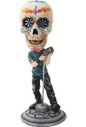 Day of the Dead Bobblehead - Lead Singer
