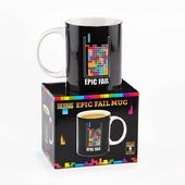 Tetris - Epic Fail 10 oz. Ceramic Mug