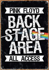 Pink Floyd - Backstage Tin Sign