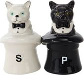 Cat In Hats - Salt & Pepper Shaker