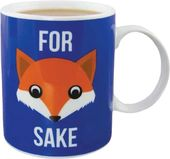 For Fox Sake - 10 oz. Ceramic Mug