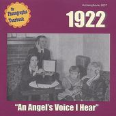 The Phonographic Yearbook 1922: An Angel's Voice