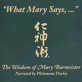 What Mary Says: Jin Shin Jyutsu